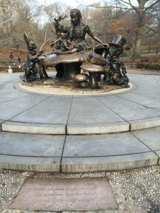 Alice In Wonderland inspired sculpture